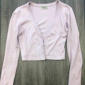 Lavender Half Sweater